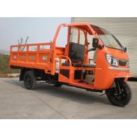 Semi Cabin& Double LED Lights for Open Cargo Tricycle