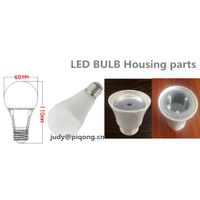 270 degrees A65 7W led bulb housing parts