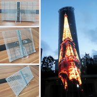 Transparent LED Display--outdoor