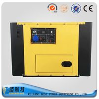 3KW silent type diesel generator set with single cylinder engine
