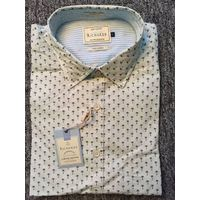 Fashion cotton high quality men's casual shirt