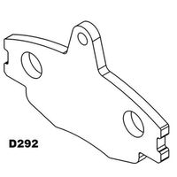 backing plate D292