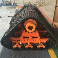 Rubber track system for truck/car, JEEP/ATV/UTV/SUV thumbnail image