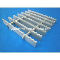 6063T6 Anti-slip serrated aluminum gratings