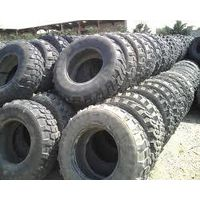 Second hand tyres of different sizes