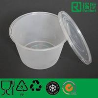 1000ml Microwave Plastic Food Container&Lid (A1000)