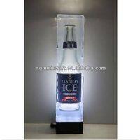 Custom LED Acrylic Lighted Beer Display