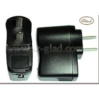 5v 800mA usb travel charger with usa plug thumbnail image