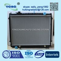 Hot sale aluminum auto radiator for TOYOTA TOCOMA AT