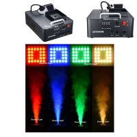 24x3w rgb led smoke machine led fog machine 1500w