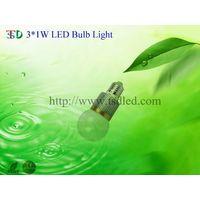 3×1W G60 High Power LED Bulb thumbnail image