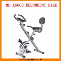 magnetic recumbent exercise bike thumbnail image