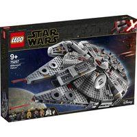 LEGO Star Wars: The Rise of Skywalker Millennium Falcon 75257 Starship Model Building Kit and Minifi thumbnail image