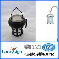 Emergency lighting series solar camping light type CE/Rohs Aluminium dual function solar lantern wit