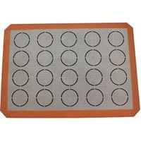 Macaron silicone fiberglass baking mat
