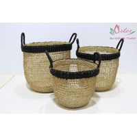 New product seagrass storage basket for home furniture - BH4329A-3MC