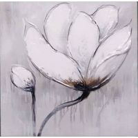 100% Handmade Oil painting Flower B style