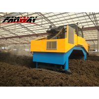 Hydraulic Compost Turner for Animal Waste Composting thumbnail image