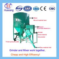 Vertical Type Animal Feed Grinder and Mixer