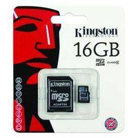 Kingston 16GB NEW RETAIL MicroSD Card SD Memory - Camera GPS MP3 Phone SDC4/16GB