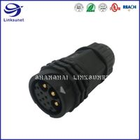 Female Connector & Male Pin Push Lock Type Solder wire for Motion &Control, Inverters and Robotics