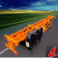 China 3Axle Container Semi-trailer for transportation on sale