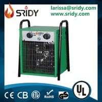 9kw electic heater square size heating machine large greenhouse space heating