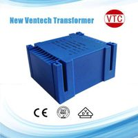 UI epoxy sealed transformer with 6W dual 115V