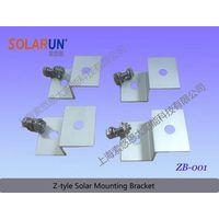 Z type solar mounting bracket (Solarun Solar)