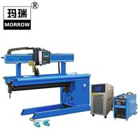 Inverter IGBT Plasma Arc Straight Seam Automatic Welding Machine with Water Cooling