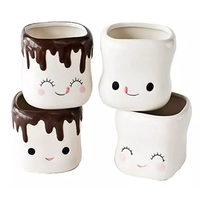HOT CHOCOLATE LOVELY SMILING CERAMICS CUP