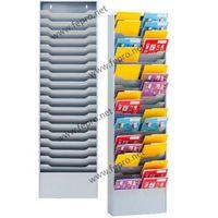 Sorti 20 wide steel magazine rack