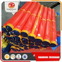 China Light Weight Blue Pe Tarpaulin Packed In Bales