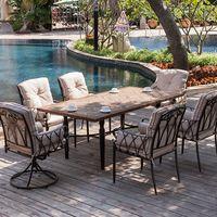 Hot sales Outdoor ceramic dining set