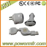 3 in 1 travel charger for iPhone thumbnail image
