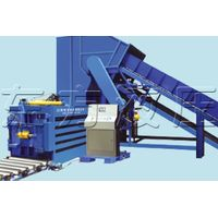 PET bottles Plastic Compactor Baler Machine with factory supply thumbnail image