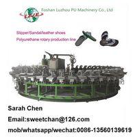 PU sandals shoes injection machine/sandal production line thumbnail image