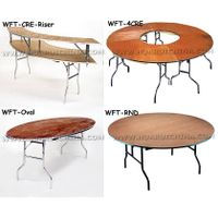 WOOD FOLDING TABLE /PLYWOOD FOLDING TABLE,round table,rectangle table ,halfround table thumbnail image
