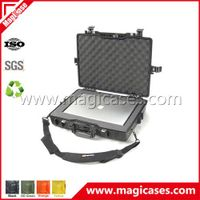 Waterproof shockproof military hard plastic fiberglass portable laptop case (IM23002)
