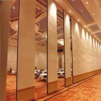 Commercial furniture soundproof panels operable wall for restaurant