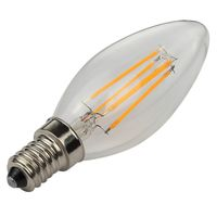 LED Candle filament bulb C35