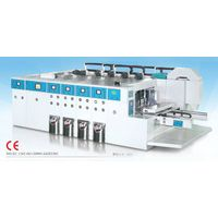 4 color caton flexo printing slotting machine