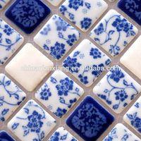foshan factory mosaic tile,ceramic mosaic,Color glazed ceramic mosaic thumbnail image
