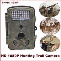 HD Digital Infrared Trail Scouting Camera 2.4'' TFT DVR IR Hunting Camera 5MP Color CMOS Hunter cam