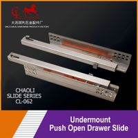 Undermount Push Open Drawer Slide CL-062