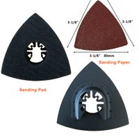 Quick Release Triangular Sanding Pad for Oscillating Tool thumbnail image
