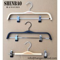 Wooden Pants Hanger Factory Direct Wholesale