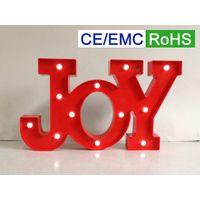 LED letters/signs/marquee JOY