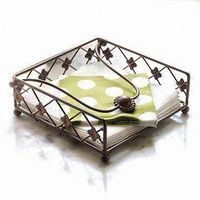 Iron Napkin Holder, Made of Iron and Zinc Alloy, Suitable for Kitchen