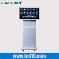 Touch Screen Kiosk With Lcd And Advertising Player Lcd Touch Screen Digitize Assembly Lcd Module Wit